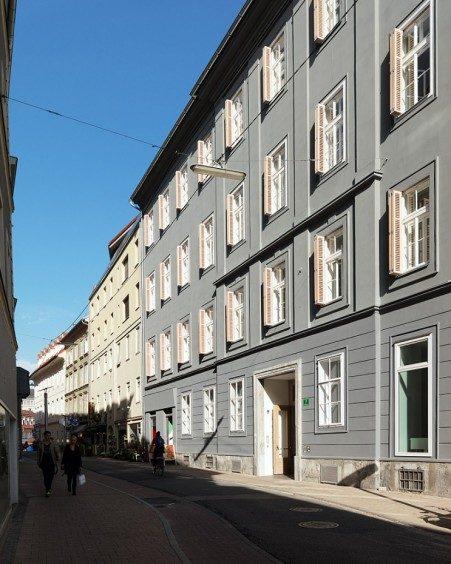 Blick Schönaugasse in Richtung Jakominiplatz